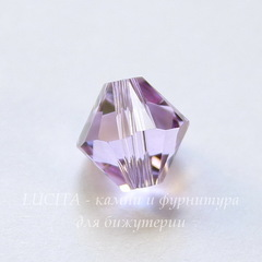 5328 Бусина - биконус Сваровски Violet 8 мм