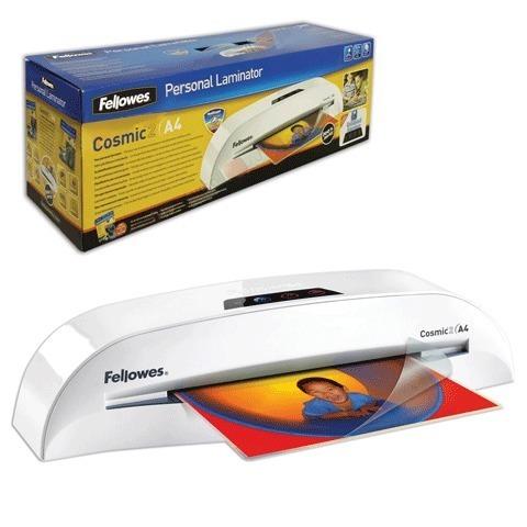 Ламинатор FELLOWES COSMIC 2, формат A4, толщина пленки 1 сторона 75-100 мкм, скорость - 30 см/минуту