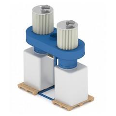 Рециркуляционный пылеулавливающий агрегат ПФЦ-8000КР