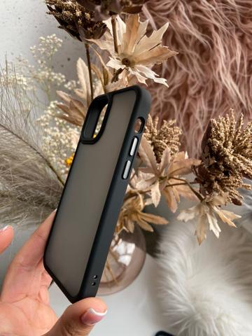 Чехол iPhone 12 Pro Max /6,7''/ Rock Guard Series matte /black/