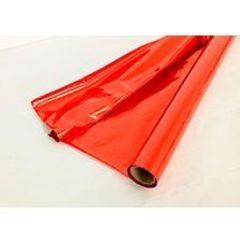 Полисилк Металл, Красный/Красный 100 см* 20 м.