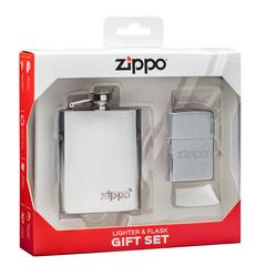 Подарочный набор: фляжка 89 мл и зажигалка «Zippo», фото 4