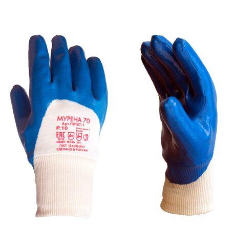 Перчатки нитриловые МУРЕНА-70