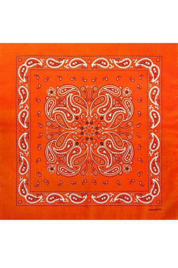 Оранжевая бандана фото