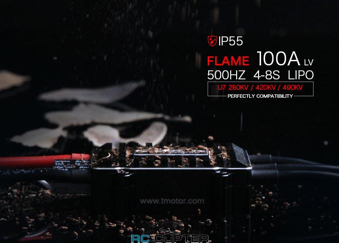 ESC регулятор мотора T-Motor 100A Flame LV