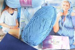 №236 темно-голубой