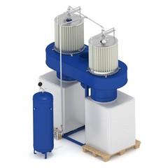 Рециркуляционный пылеулавливающий агрегат ПФЦ-8000КРК