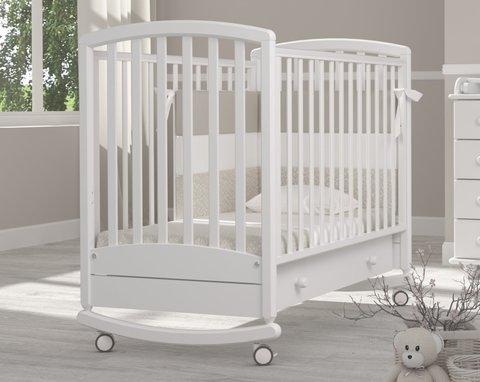 Кровать детская Дашенька белый