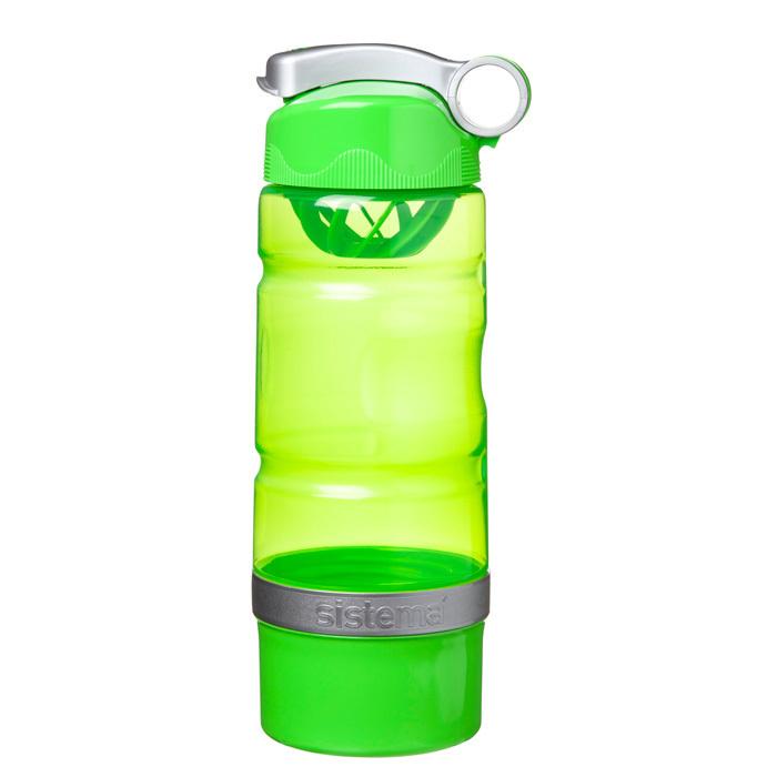 """Бутылка для воды Sistema """"Hydrate"""" 615 мл, цвет Зеленый"""