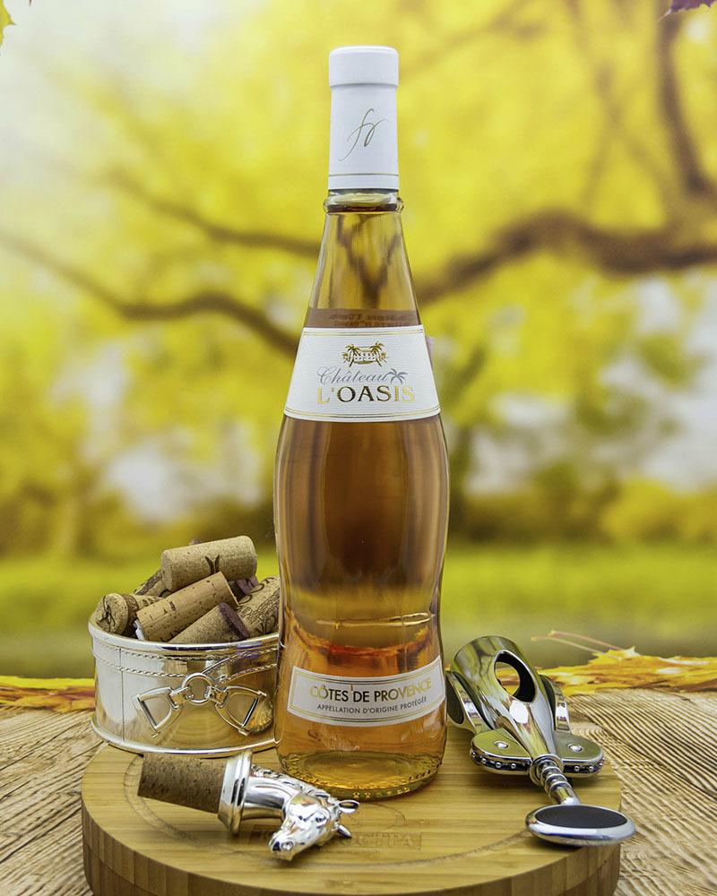 Вино Chateau L'Oasis Шато л'Оазис Розовое Сухое 2019 г.у. 12,5% 0,75 л.