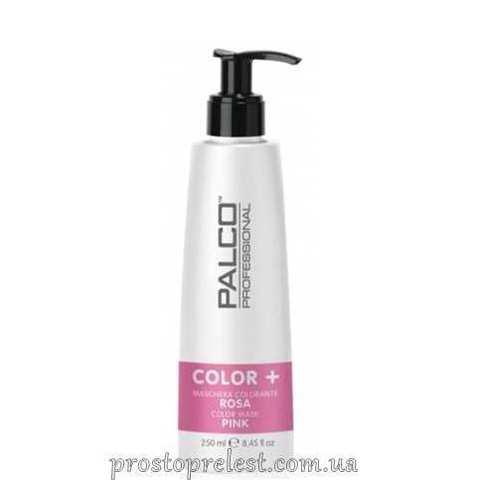 Palco Professional Color + Color Mask Pink - Питательная тонирующая маска для волос Розовая
