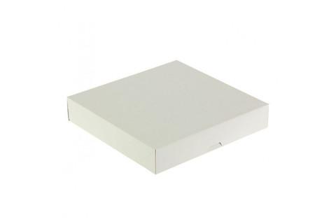 060-0016 Коробка 22*22*4 см сборная белая