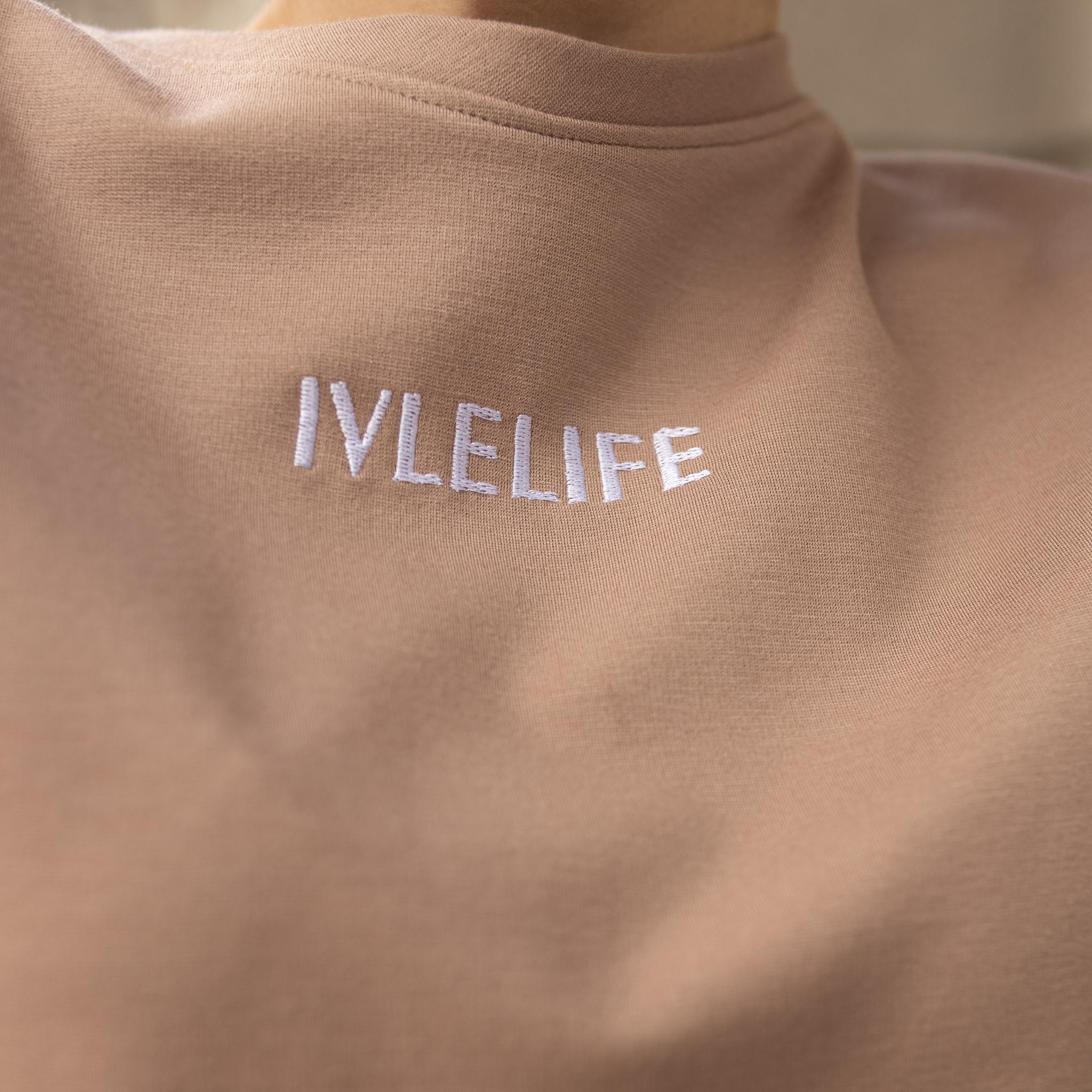 Свитшот  с позитивной вышивкой