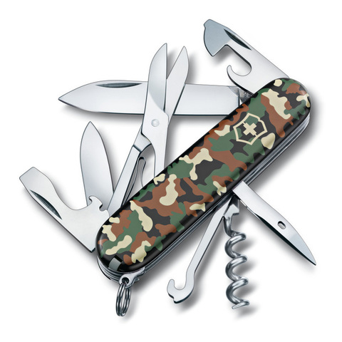 Нож Victorinox Climber, 91 мм, 14 функций, камуфляж