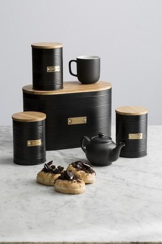 Хлебница Otto черная