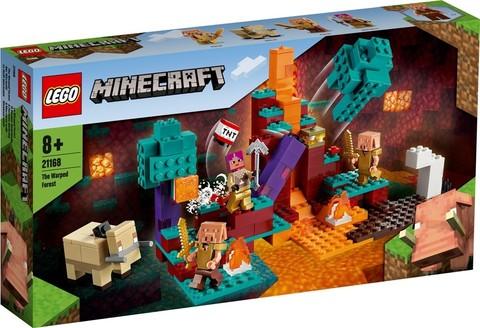 Lego konstruktor Minecraft The Warped Forest