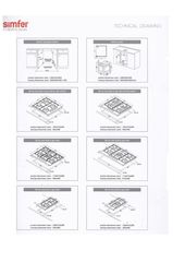 Варочная панель Simfer H60Q40W411 - схема