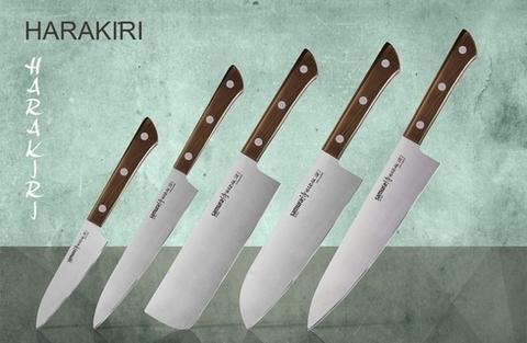 Набор из 5 кухонных стальных ножей