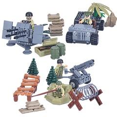 Минифигурки Военных Армия США Вторая мировая серия 105