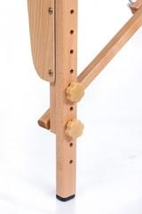 Массажный стол деревянный 2-хсекционный RESTPRO Classic 2 Black