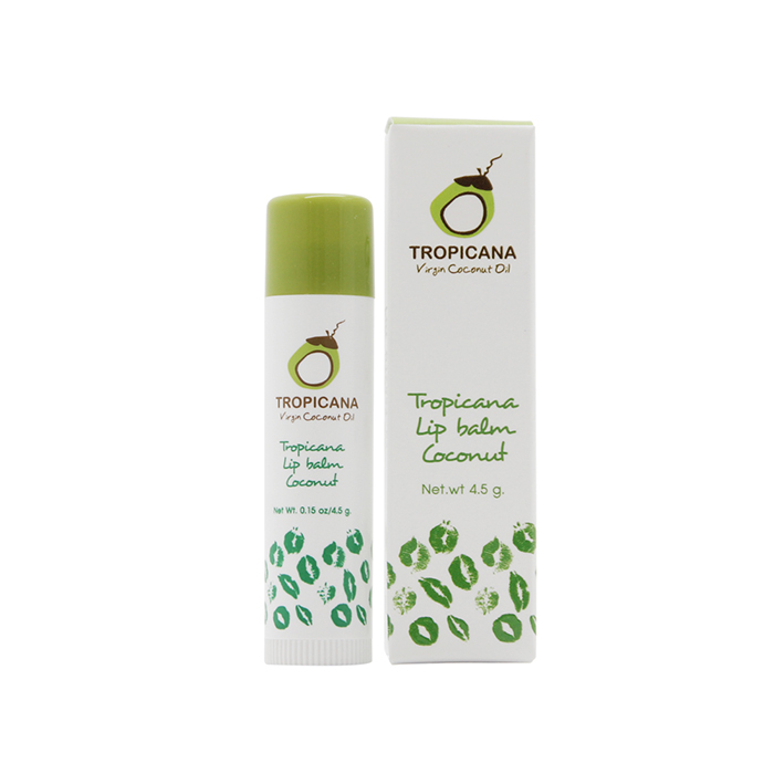 TROPICANA OIL Бальзам для губ «Coconut», TROPICANA OIL, 4.5г tropicana-lip-balm-coconut-4.5g.jpg