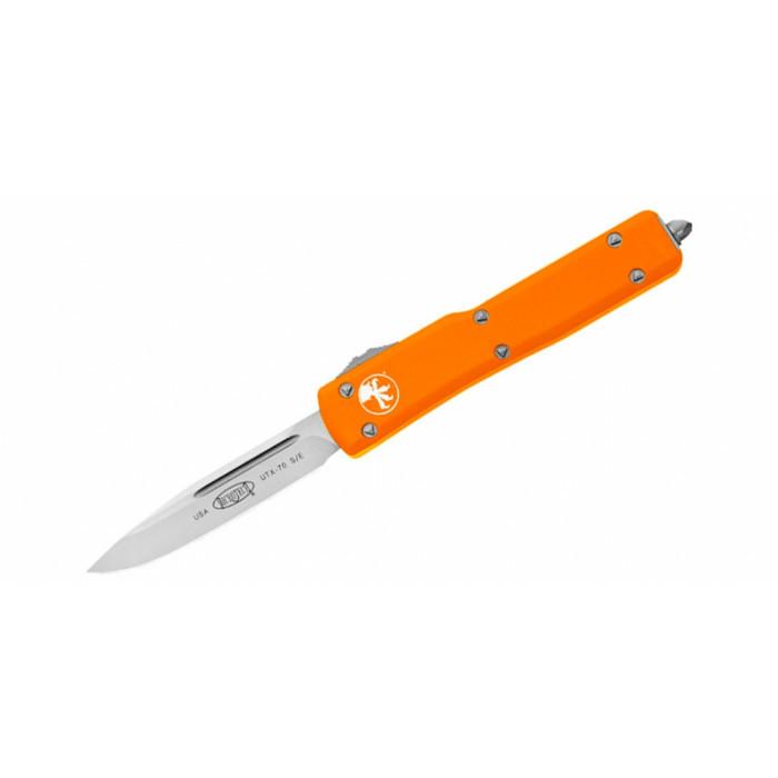 Фронтальный нож Microtech 148-4OR UTX-70 S/E Выкидной