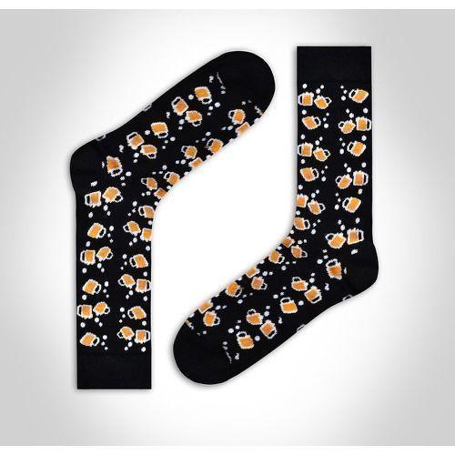 Носки мужские черные с принтом DARKZONE DZCP0306