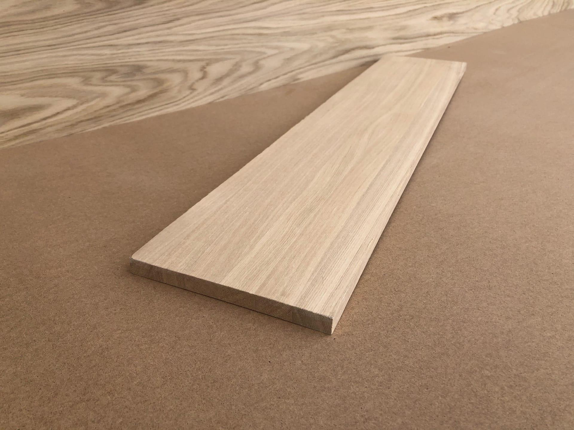 Мебельный щит из ясеня (цельноламельный, Дальневосточный)