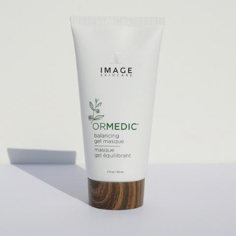 Успокаивающая маска-гель Balancing Gel Masque, ORMEDIC, IMAGE, 59 мл.