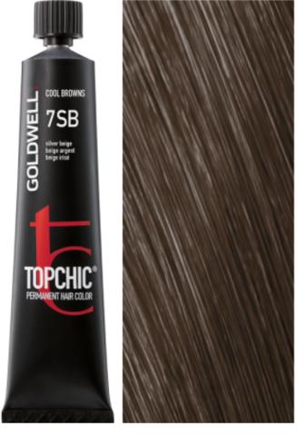 Goldwell Topchic 7SB серебристо-бежевый TC 60ml