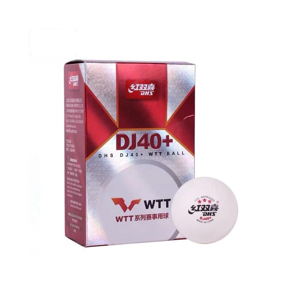 Мячи для настольного тенниса DHS 3* DJ40+ WTT