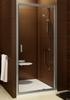 Душевая дверь Ravak Blix BLDP2 - 120 блестящий + транспарент  0PVG0100Z1
