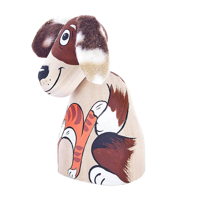 Деревянная игрушка-качалка «Пес»