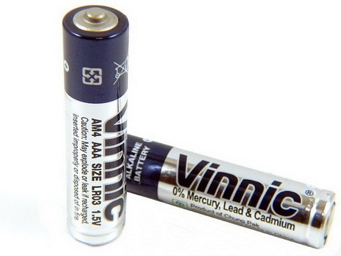 Батарейки Vinnic LR03, AAA (4/60)