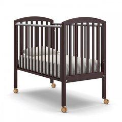 Кровать детская Дени без ящика махагон