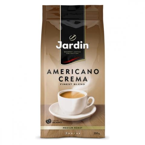 Кофе JARDIN Americano Crema зерно 250 гр м/у РОССИЯ