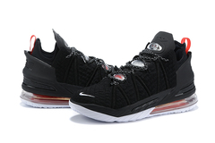 Nike LeBron 18 'Black/University Red/White'