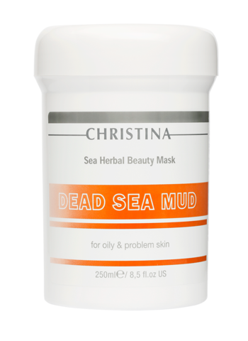 Christina Маска красоты на основе морских трав для жирной и проблемной кожи «Грязь Мертвого моря»  | Sea Herbal Beauty Dead Sea Mud Mask for oily & problem skin