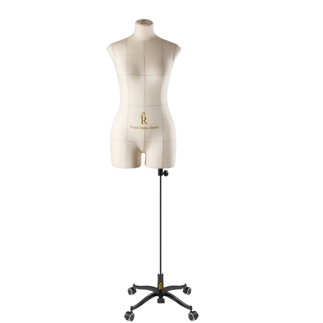 Манекен портновский Моника, комплект Стандарт, размер 44, бежевыйФото 1