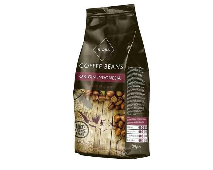 Кофе в зернах Rioba Origin Indonesia, 500 г