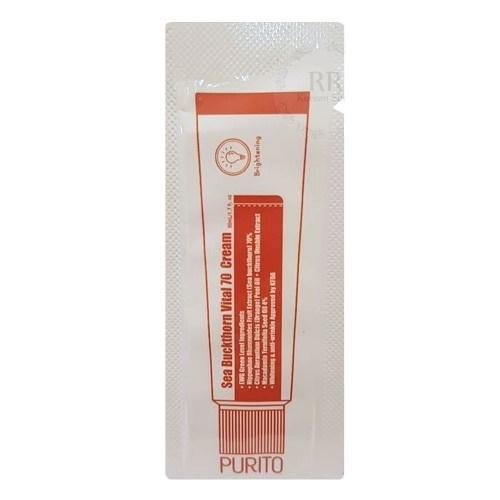 Кремы для лица Крем для лица PURITO Sea Buckthorn Vital 70 Cream(sample) 170201394.jpg