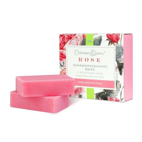Парфюмированное мыло «Изысканная роза» с абсолютом розы
