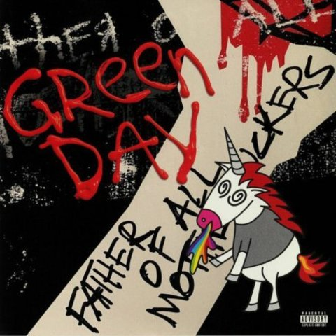 Виниловая пластинка. Green Day - Father of all...