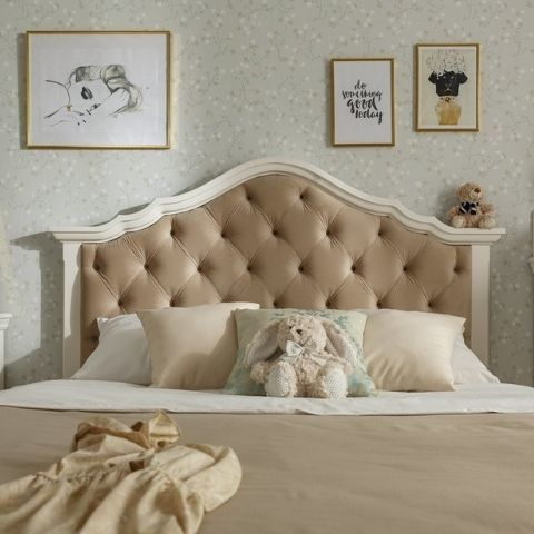 Кровать Айно 18 (белый скандик)