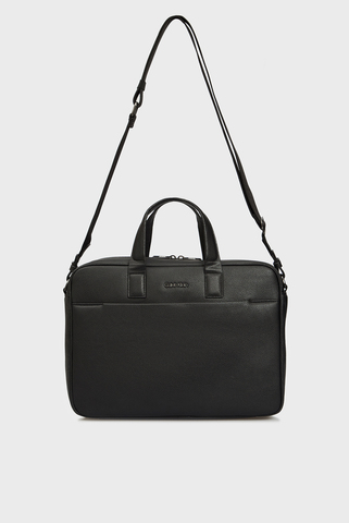 Мужская черная сумка для компьютера Calvin Klein