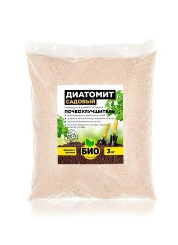 Диатомит садовый 3 л
