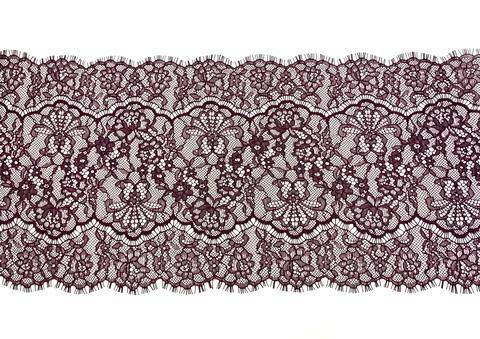 Кружево реснички слива (22 х 290 см)