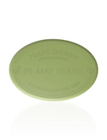 MAYISLAND 7Days Мыло для проблемной кожи 7Days Secret Centella Cica Pore Cleansing Bar
