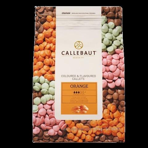 Шоколад со вкусом апельсина в галетах BARRY CALLEBAUT, 250 гр.
