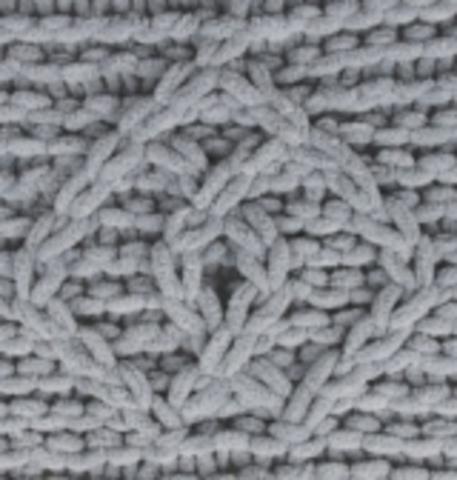 Пряжа Puffy Fine Alize 343 Угольный серый, картинка